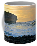 Sunlit Waves - Kauai Dawn Coffee Mug
