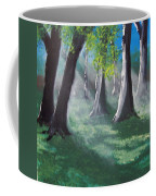 Sunlit Woods Coffee Mug