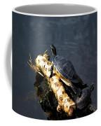 Sunning Turtles Coffee Mug