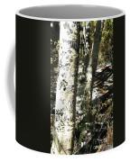 Sunny Aspen Shadows Coffee Mug