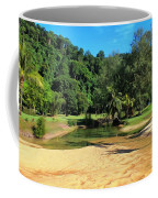 Sunny Beach Tioman Island Coffee Mug
