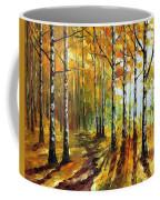 Sunny Birches Coffee Mug