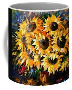 Sunny Bouquet Coffee Mug