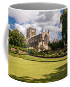 Sunny Day At Hexham Abbey Coffee Mug