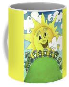 Sunny Day Train Coffee Mug