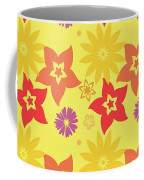 Sunny Flowers Coffee Mug by Becky Herrera