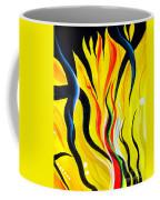 Sunny Morning, Energy. Abstract Art Coffee Mug