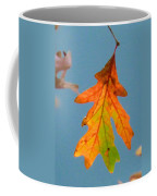 Sunny Oak Leaf Coffee Mug