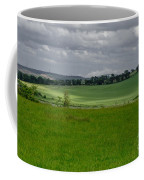 Sunny Patches On The Field. Coffee Mug
