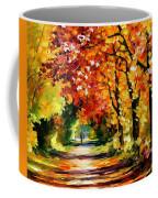 Sunny Path Coffee Mug