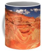 Sunny Skies At The Wave Coffee Mug