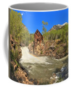 Sunny Skies Over The Crystal Mill Coffee Mug