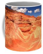Sunny Skies Over The Wave Coffee Mug