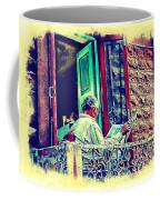 Sunny Sunday Morning Newspaper Vintage India Rajasthan Udaipur 2b Coffee Mug