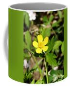 Sunny Yellow Buttercup Coffee Mug