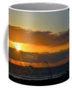 Sunrays And Clouds Coffee Mug