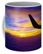 Sunrise Above The Clouds Coffee Mug