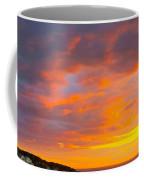 Sunrise And Clouds Over Pigeon Cove Coffee Mug
