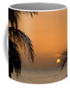 Sunrise And Palms Coffee Mug