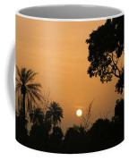 Sunrise And Silhouettes Coffee Mug