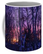 Sunrise And Snow Coffee Mug