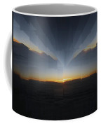 Sunrise At 30k  10 Coffee Mug