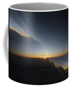 Sunrise At 30k  4 Coffee Mug