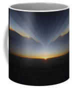 Sunrise At 30k  7 Coffee Mug