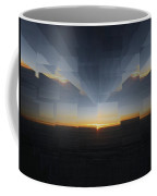 Sunrise At 30k  8 Coffee Mug