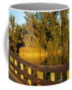 Sunrise At A Lake Coffee Mug