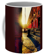 Sunrise At Albert Dock Coffee Mug