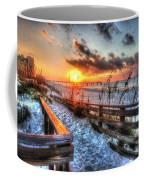 Sunrise At Cotton Bayou  Coffee Mug