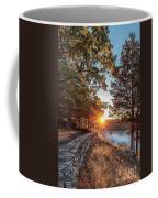 Sunrise At Great Bend Coffee Mug