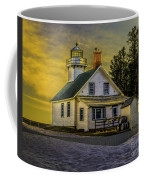 Sunrise At Mission Point Light Coffee Mug