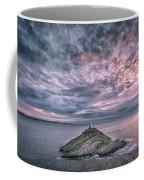 Sunrise At Mumbles Lighthouse Coffee Mug