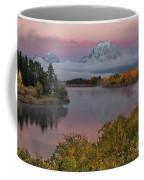 Sunrise At Oxbow Bend Coffee Mug