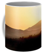 Sunrise At Pastelero Near Villanueva De La Concepcion Malaga Region Spain Coffee Mug