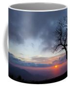 Sunrise At Saddle Overlook Coffee Mug