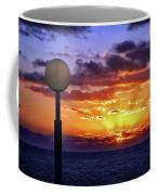 Sunrise At Sea Off The Delmarva Coast Coffee Mug