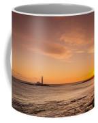 Sunrise At St Mary's Lighthouse Coffee Mug