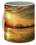 Sunrise At The Big Marsh Coffee Mug