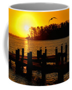 Sunrise At The Boat Launch  Coffee Mug