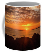 Sunrise At The Jetty Coffee Mug