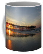 Sunrise At The Pier Coffee Mug