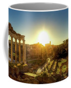 Sunrise At The Ruins Coffee Mug