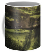 Sunrise At The Sheep Farm Coffee Mug