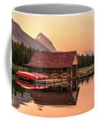 Sunrise Boat House Coffee Mug