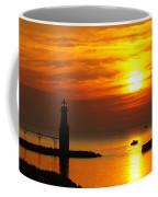 Sunrise Brushstrokes Coffee Mug