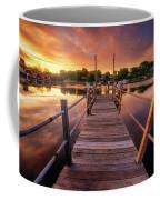Sunrise By The Ramp Coffee Mug