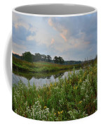 Sunrise Clouds Above Glacial Park's Nippersink Creek Coffee Mug